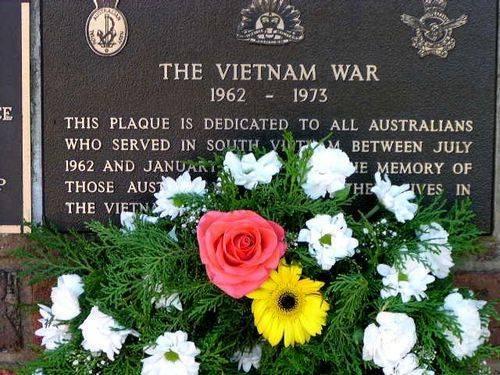 Vietnam War Plaque
