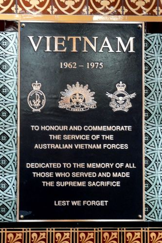 Vietnam War Plaque : 16-September-2011