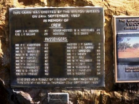 Air Crash Plaque 2 : 31-05-2014