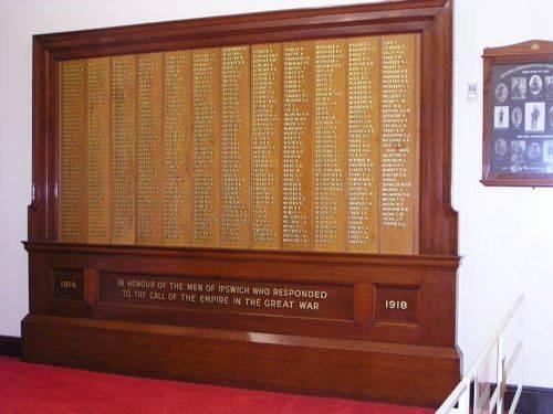 WW1 Honour Board Enlistments 2