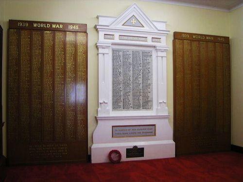 WW1 Honour Board Supreme Sacrifice