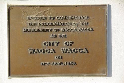 Wagga Wagga City Proclamation