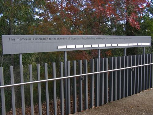 Warragamba Dam Workers Memorial | Monument Australia