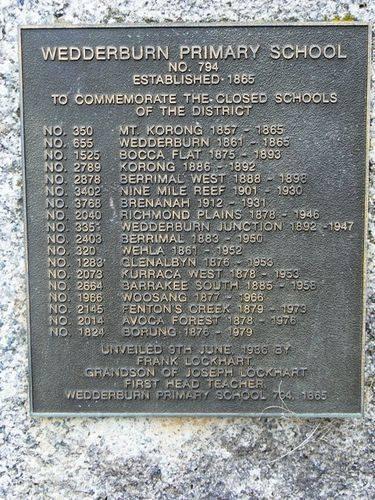 Wedderburn Schools