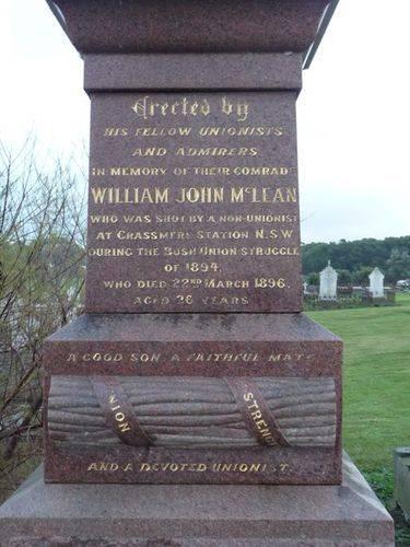 William John McLean : 11-June-2011