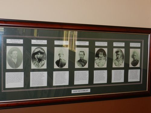 Woodvale Honour Roll : 14-March-2013