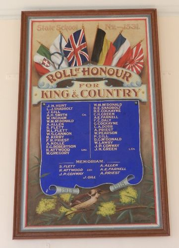 Woodvale State School Honour Roll : 14-March-2013