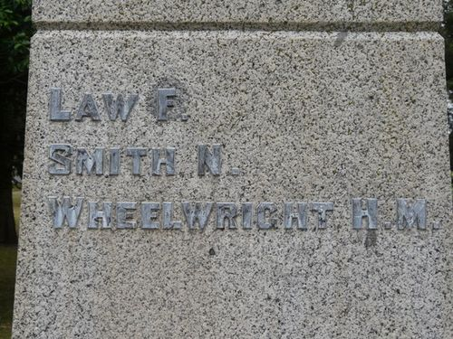 World War One Memorial : 19-February-2012