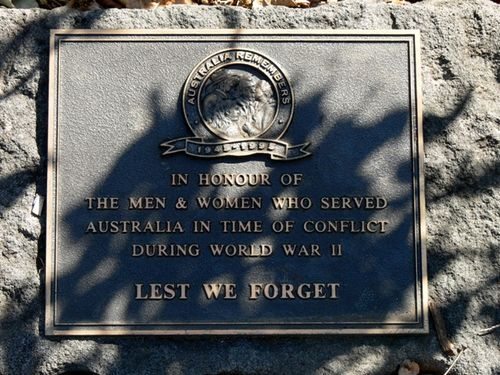 World War Two Service Personnel : 08-April-2013