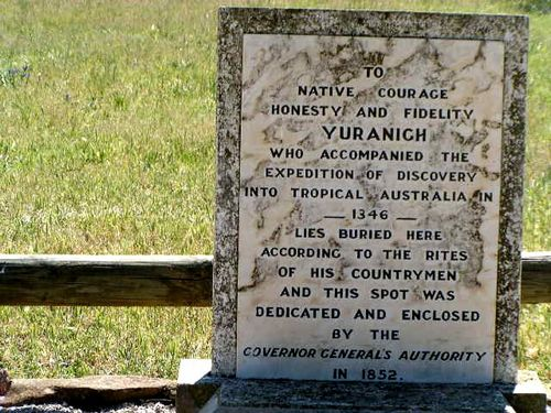 Yuranighs Grave Inscription