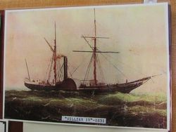 03-November-2015 : Picture of William IV in Clarence Town and District Historical Museum