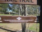 Brisbane Rail Trail Plaque : 05-08-2013
