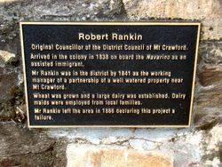 Rankin Plaque: 12-March-2017