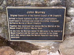Murray Plaque: 12-March-2017