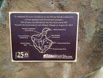 Woady Yaloak Landcare Plaque : November 2013