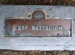 22nd Battalion : 22-September-2011