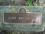 2/43rd Battalion : 12-November-2011