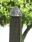 1974 Flood Marker : 26-05-2014