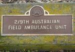 2/9th Australian Field Ambulance Unit : 21-September-2011