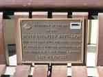 29th Infantry Battalion Plaque
