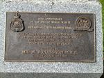 50th Anniversary WW2 Inscription : October 2013
