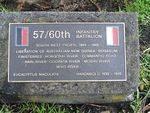 57/60th Battalion : 25-September-2011