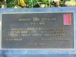 58th Battalion : 21-September-2011