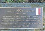 60th Battalion : 21-September-2011