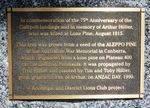 75th Anniversary of Gallipoli Landings : 09-December-2012