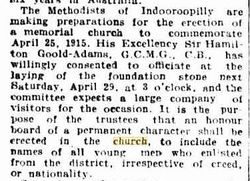 ANZAC Memorial Methodist Church
