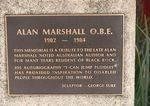Alan Marshall : 21-September-2012