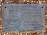 Plaque Inscription : 02-August-2014
