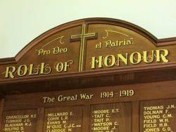 Honour Roll 2 : 29-November-2014