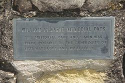 Lysaght Park Plaque : 10-December-2014