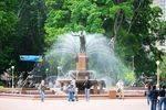 Archibald Memorial Fountain : 31-October-2011