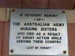 Augusta Army Nurses Memorial Inscription