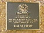 Plaque Inscription : 28-03-2014
