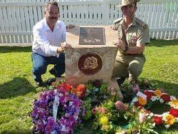 Nigel Allsopp President of AWAMO +Maj Kendall Crocker ADF Veterinarian: 30-May-2015