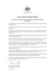 PM Message: 30-May-2015