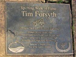 Tim Forsyth - 2000: 03-May-2015