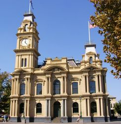 Bendigo Town Hall : 13-April-2007