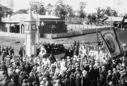 09-September-1922 : Unveiling (State Library of New South Wales)