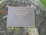 Paper Mill Centenary Plaque Inscription : November 2013