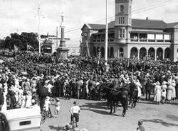 25-April-1921 : Unveiling (State Library of Queensland)