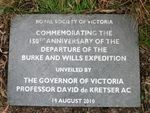 Burke & Wills 150th Anniversary : 20-January-2012