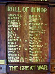 Honour Roll 2 : 25-March-2015