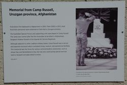 Camp Russell Plaque : 18-March-2015