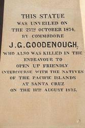 Goodenough Inscription : 05-October-2014