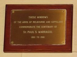 Plaque : 03-May-2015
