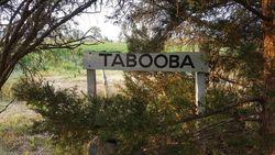 Tabooba sign: 23-October-2016